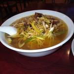 中華料理 東海飯店 - ネギチャーシュー麺