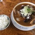 かし亀 - チャーシュー多い麺  味噌  ¥1,000 小ライス ¥150