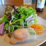 クリヤム - 前菜サラダ&生春巻き