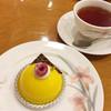 東京風月堂 - 料理写真:ケーキセット(パッションブラン&紅茶)