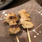 炭と日本酒 仁 - 焼き鳥 ぼんじり