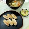 カネダイ大野商店 - 料理写真:ししゃも寿司セット 1600円