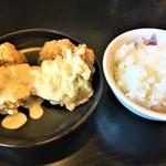 ハルピン 味噌らーめん 雷蔵 - タルタル唐揚げご飯セット390円+税