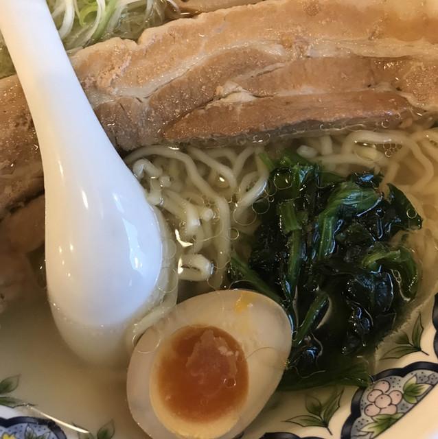 中国ラーメン揚州商人 東大宮店 - タイルーメン。 美味し。
