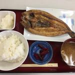 ひもの食堂 - ホッケ定食