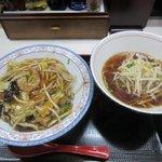 中華食堂一番館 - 中華丼セット2018.11.03