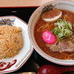 らーめん きちりん - 料理写真:チャーハンセットみそ_1,000円