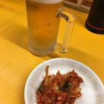 崔おばさんのキムチ - 生(小) キムチはタダで食べ放題!