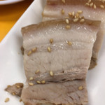 崔おばさんのキムチ - 蒸し豚アップ