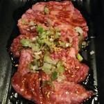 焼肉・ホルモン料理 とらじ亭 - カルビ 並 50g 780円
