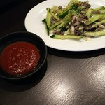焼肉・ホルモン料理 とらじ亭 - センマイ刺身 小 480円