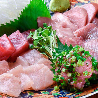 こだわり抜いた、絶品マグロ料理の数々をお楽しみください。