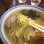 食事処里味 - 麺アップ
