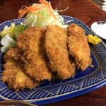 食事処里味 - 若鶏かつ定食