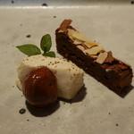 バンケッティ - ドルチェ チョコレートケーキ、栗、マスカルポーネチーズ