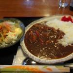 お食事処 肴町 - チキンカレー 500円