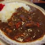 お食事処 肴町 - カレーは家庭的な味わい