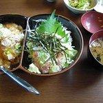 お食事処 たつ家 - 料理写真:2色丼