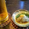 大善 - 料理写真:生ビールとお通し