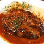 洋食バル ウルトラ - ハンバーグ