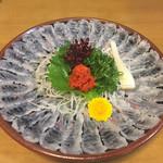 うな慎 - 料理写真:うなぎ刺身