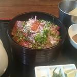 茶良ら - 海鮮ひつまぶし(1000円)