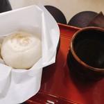 雪月花 - おやき〜野沢菜〜とほうじ茶と。