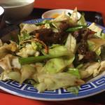 小笹飯店 - ニラレバ定食