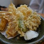 明月いけだ - 料理写真:天ぷら定食