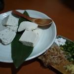 石臼挽きうどん しゅはり - 豆腐比べ 家でも食べたい。