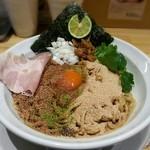 本町製麺所 阿倍野卸売工場 中華そば工房 - 【汁なし中華そば】¥750