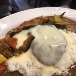 MAJI CURRY - ハンバーグカレー野菜トッピング