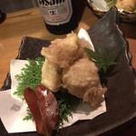 なな瀬 - イチヂクの天ぷら