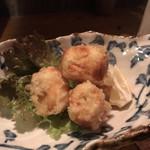なな瀬 - ちくわとチーズの天ぷら
