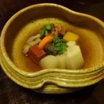 有恒 - 野菜の炊き合わせ