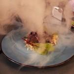 北欧キャンプ料理 CAMPFIRE - 戻り鰹の燻製