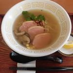 中華そば とりのほね - 限定麺 鴨塩中華そば 840円