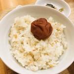 美噌元 - 南高梅のトッピングご飯