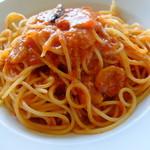 """カプリカフェ - """"トマトとニンニクのスパゲッティ"""""""