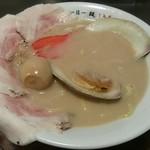 95969012 - 【(限定) 『浮気』 + 煮卵】¥900 + ¥50