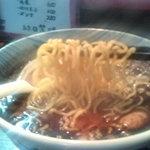 9597034 - 黒ラーメン「麺」