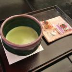 まとい - お抹茶(税込680円)