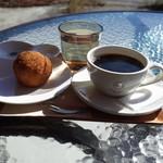 ククーカフェ - 2018.11  コメケット、コーヒー