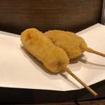 串揚げと鍋の美味しい店 福助 - 豚串、牛串