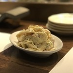 串揚げと鍋の美味しい店 福助 - マカロニサラダ