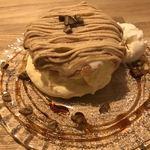95973769 - 期間限定モンブランパンケーキ