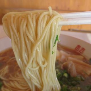 おお峰食堂 - 料理写真:麺の太さ
