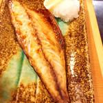 や台ずし - 金華鯖の塩焼き