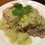 95975730 - 鼎泰豐立川店(蒸し鶏の葱ソース)