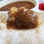 とびきり焼肉 英 はなぶさ - 黒毛和牛煮込みカレー